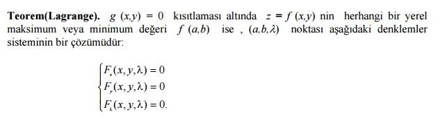lagrange-teoremi