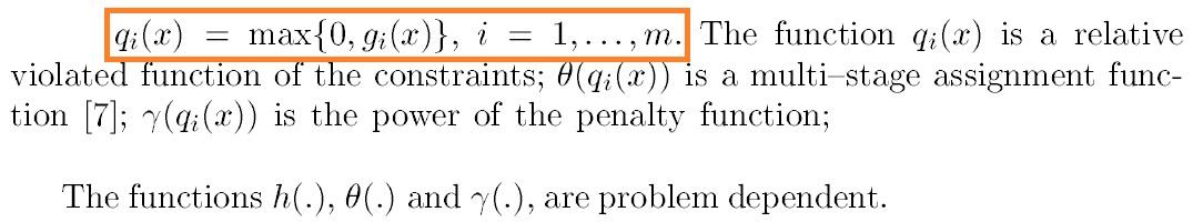 penalty-factor-parameters