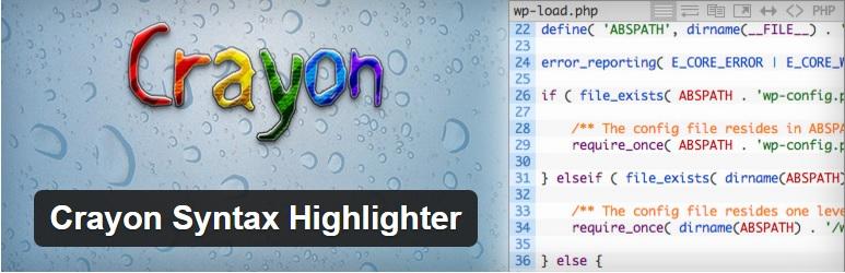 İlk kurduğum WordPress eklentisi: Crayon Syntax Highlighter