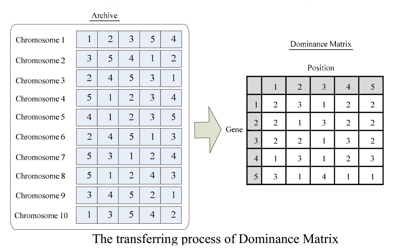 dominance-matrix