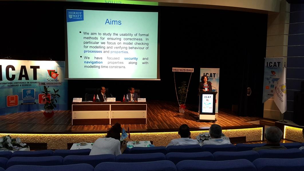 Konya'da düzenlenen ICAT'16 konferansını takip ettim