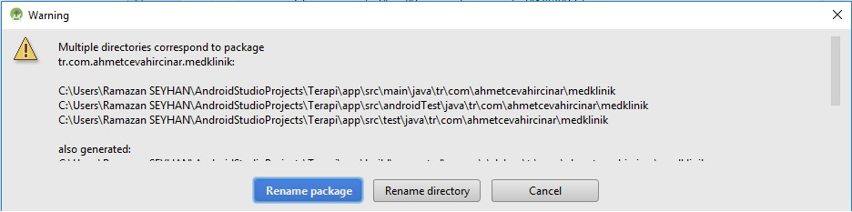 Android Studio'da bir proje nasıl klonlanır?