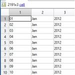 Matlab'ta iki tarih arasında kaç gün olduğunu nasıl buluruz?