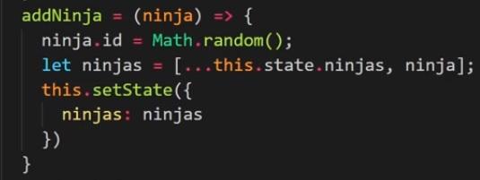 React – Javascript spread operator ile diziye eleman nasıl eklenir?